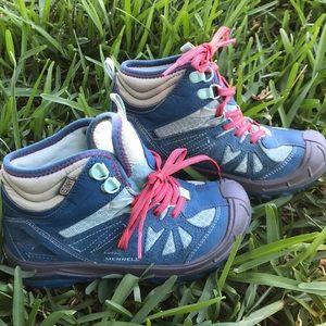Merrell girls 1 waterproof hiking boot